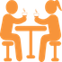 Breakroom Icon Orange