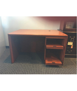 CCN Wood Veneer Desk