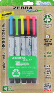 Zebra-Eco-Zebrite-Double-ended-Assorted-Color-Highlighters-6bb9c4dd-5c7d-416c-8891-28ccef0c036a_600